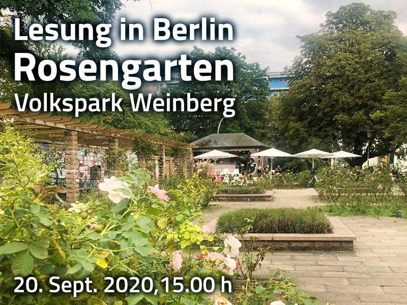 Lesung: Berlin Rosengarten